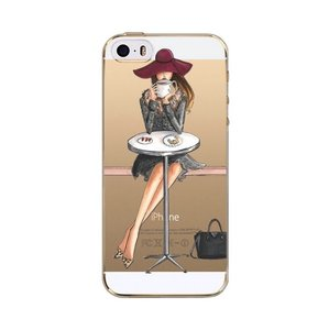 Fashion Girl Soft TPU Case IPhone 6/6S