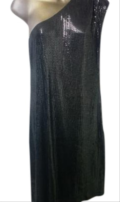 Michael Kors Dark Silver One Sequin Szm Dress - 71% Off Retail lovely