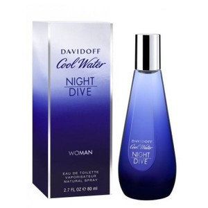 davidoff Cool Water NIGHT DIVE 2.7 oz / 80 ml EDT Spray for Woman ,New.