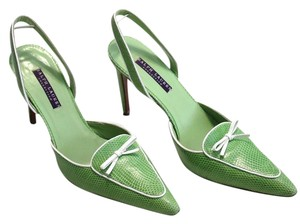 Ralph Lauren Collection Chanel Green Pumps