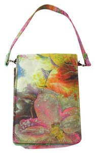 Hobo International Floral Print Leather Phone ID Case