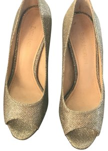 Enzo Angiolini Silver/pewter Platforms
