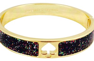 Kate Spade Kate Spade Glitter Spade Bangle Bracelet New