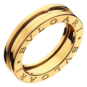 BVLGARI Bvlgari B.Zero ring 1 Band Yellow Gold Size: 9 UK 59