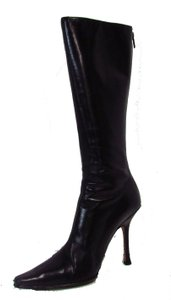 Jimmy Choo Pointed Toe Heeled Black Boots
