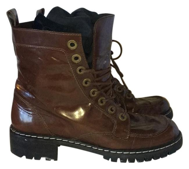 Item - Brown The Luge Boots/Booties Size US 6 Regular (M, B)