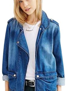One Teaspoon Blue Denim Womens Jean Jacket