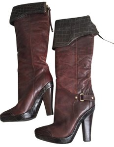 Marciano Burgundy Wedges