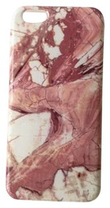 Pink Marble Natural Stone Iphone 6/6s Case