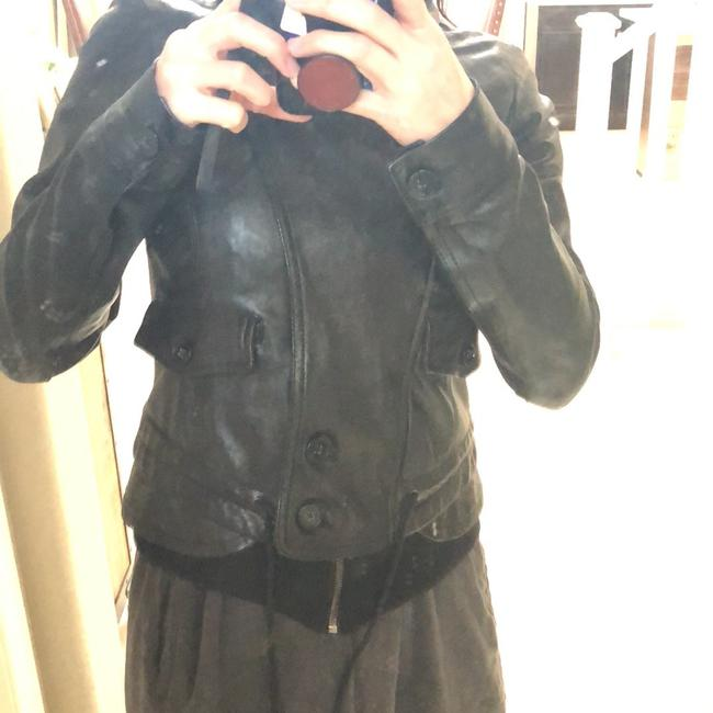 Theory Leather Jacket Image 11