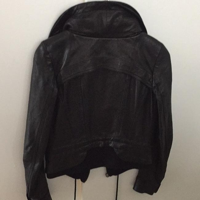 Theory Leather Jacket Image 2