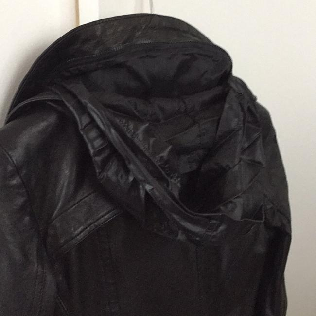 Theory Leather Jacket Image 3