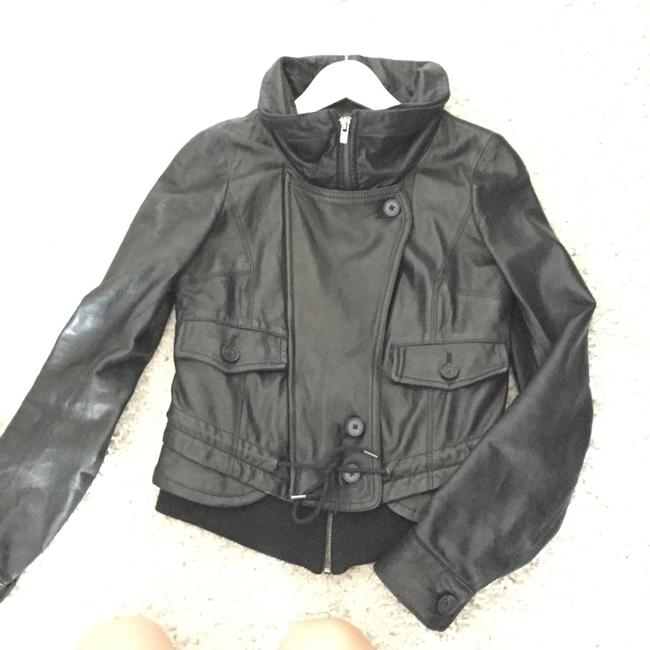 Theory Leather Jacket Image 5