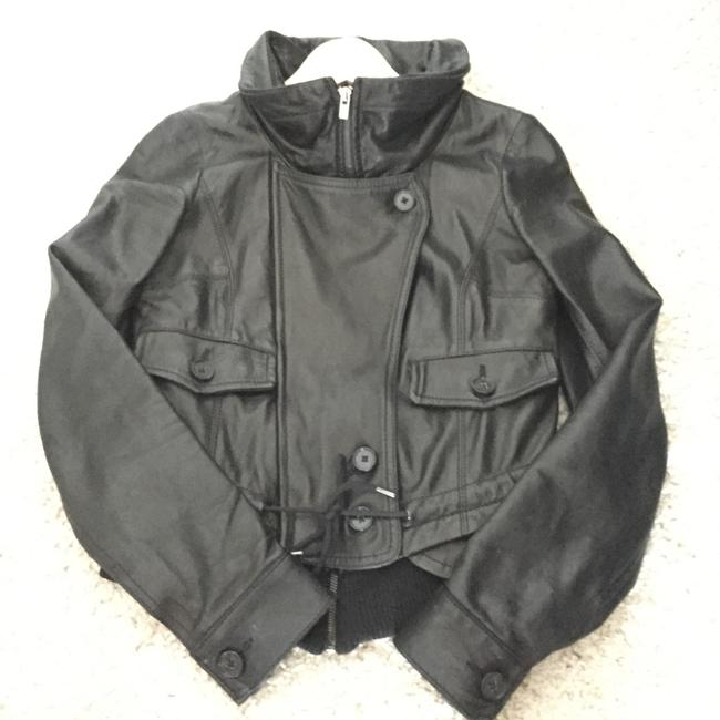 Theory Leather Jacket Image 6