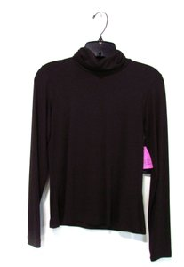 Karen Kane Long Sleeve Top Brown