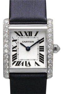 Cartier Cartier Tank Louis Watch White Gold with Diamond