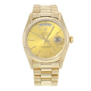 Rolex Rolex Day-Date 17038 18K Yellow Gold Automatic Men's Watch (14715)