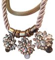 Other Vintage Style Necklace metallic and stones