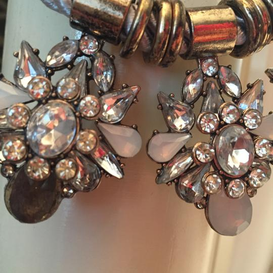 Other Vintage Style Necklace metallic and stones Image 5