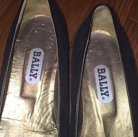 Bally Black gold Flats Image 3