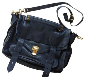 Proenza Schouler Satchel in Midnight Blue