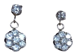 Especially designed and made one and 1/2 carat yellow gold diamond earrings 1 .50 CTW 14K yellow gold diamond earrings.