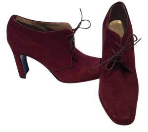 Ellen Tracy Ankle Boot Burgundy Boots