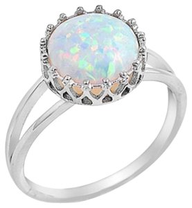 9.2.5 Stunning antique style figurine opal ring size 9