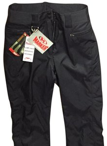 Marker Black Stretch Ski Pants