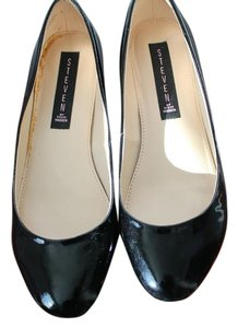 Steven by Steve Madden Patent Leather Paige Black Flats