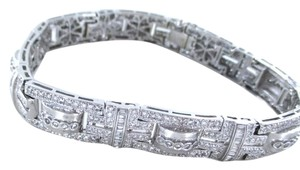 Other 18KT WHITE GOLD BRACELET 490 DIAMONDS 8.50 CARAT BANGLE 48.3 GRAMs