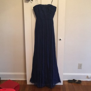 J.Crew Navy Formal Bridesmaid/Mob Dress Size 4 (S)