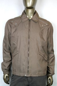 Gucci Brown New Men's Diamante Hooded Blouse It 56 / Us 46 293026 2820 Groomsman Gift