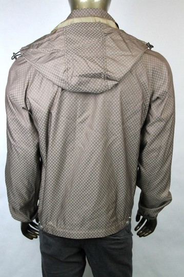 Gucci Brown New Men's Diamante Hooded Blouse It 56 / Us 46 293026 2820 Groomsman Gift Image 4