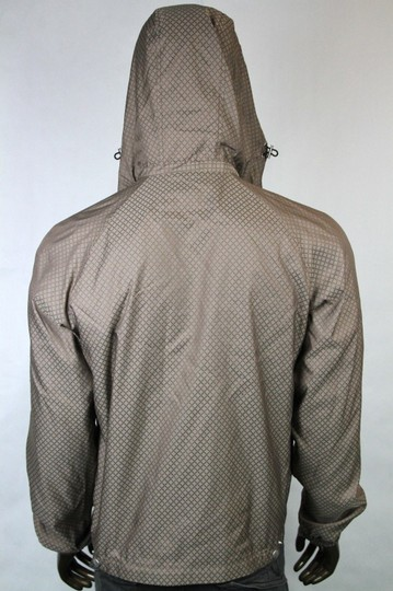 Gucci Brown New Men's Diamante Hooded Blouse It 56 / Us 46 293026 2820 Groomsman Gift Image 5