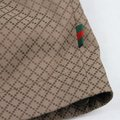 Gucci Brown New Men's Diamante Hooded Blouse It 56 / Us 46 293026 2820 Groomsman Gift Image 8