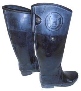 Hunter Rubber black Boots