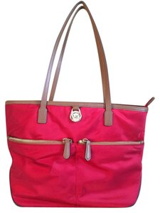 Michael Kors Nylon Red Tote in Red-Chili