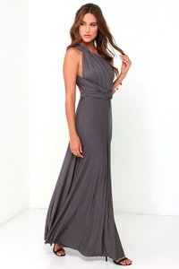 Gray And Light Gray Two Dress