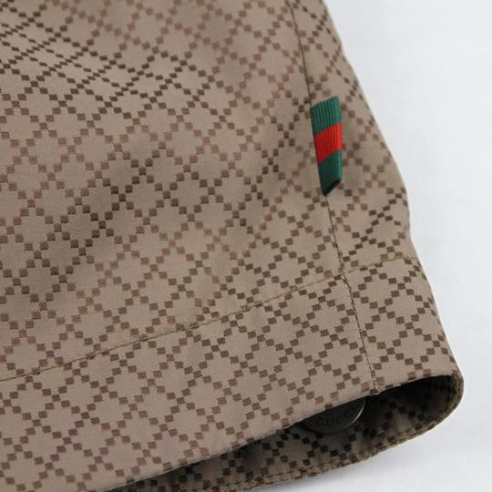 Gucci Brown New Men's Diamante Hooded Blouse It 52 / Us 42 293026 2820 Groomsman Gift Image 8