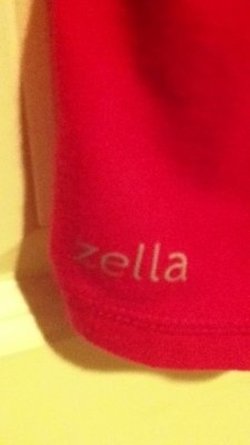 Zella Xs Extra Small Small 2 4 6 Nordstrom Long Sleeve Yoga Exercise Aerobics Lounge Wear Logo Pullover Stretch Stretchy T Shirt pink