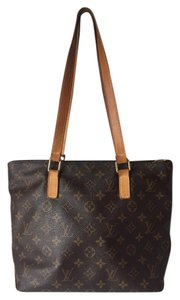 Louis Vuitton Canvas Tote in Brown Monogram
