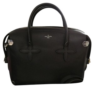 Louis Vuitton Garance Lv Satchel in Black