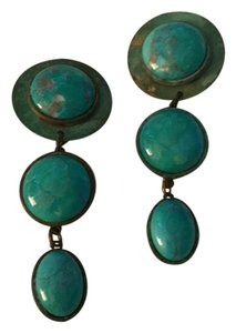 Vintage turquoise earrings Vintage Turquoise Earrings