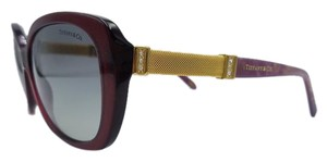 Tiffany & Co. Tiffany & Co. Women's Burgundy w/Gold Acetate Sunglasses TF 4106