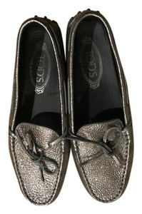 Tod's Drivers Loafer metallic light gold Flats