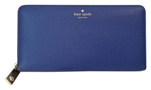 Kate Spade Kate Spade Grey Street Neda islanddeep Ziparound Leather Wallet