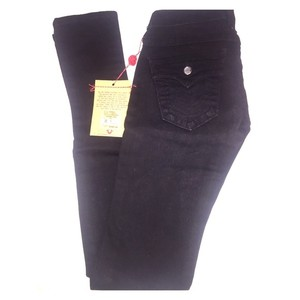 True Religion Embellished Crystal Skinny Jeans-Dark Rinse