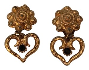 Graziano Vintage Clip On Earrings