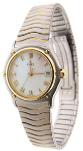 Ebel Ebel Classic Wave MOP 18K Yellow Gold & Stainless Steel 27mm Watch